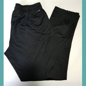 Reebok Play Dry Black Slim Athletic Pants